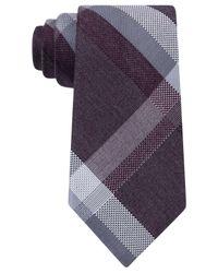 Michael Kors | Purple Men's Dylan Plaid Tie for Men | Lyst