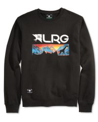 LRG | Black Men's Graphic-print Sweatshirt for Men | Lyst
