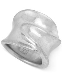 Robert Lee Morris   Metallic Silver-tone Sculptural Ring   Lyst