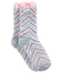 Charter Club - Gray Women's Double Zigzag Butter Socks, Only At Macy's - Lyst