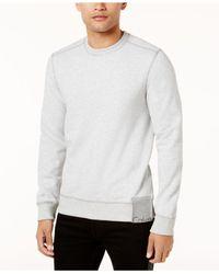 Calvin Klein Jeans - Gray Men's Hem Label Sweatshirt for Men - Lyst