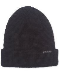 Rip Curl - Black Men's Crafted Beanie for Men - Lyst