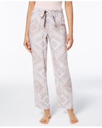 Alfani Multicolor Printed Pajama Pants