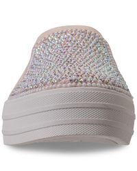 Skechers Pink Double Up - Shimmer Shaker Casual Sneakers From Finish Line