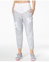 Nike - Gray Futura Colorblocked Pants - Lyst