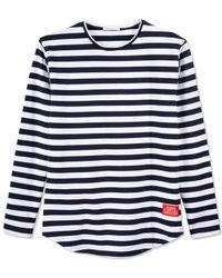 Reason | Blue Men's Unisex Long-sleeve Stripe T-shirt for Men | Lyst