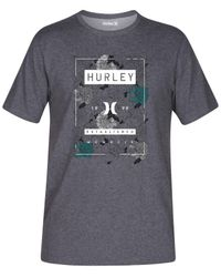 Hurley | Gray Men's Shacked Premium Graphic-print Logo T-shirt for Men | Lyst