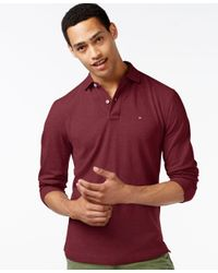 Tommy Hilfiger Red Casual Classic Fit Polo Shirt for men