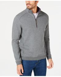 Tommy Bahama - Gray Reversible Flip-side Classic Sweatshirt, Created For Macy's for Men - Lyst