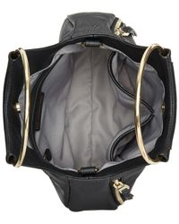INC International Concepts - Black Embroidered Bangle Medium Crossbody, Created For Macy's - Lyst