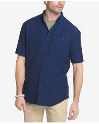 G.H. Bass & Co. - Blue Men's Explorer Fishing Shirt for Men - Lyst