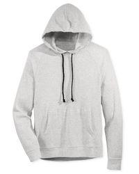 American Rag - Gray Men's Thermal-knit Raglan-sleeve Hoodie for Men - Lyst