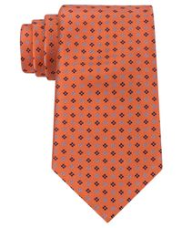 Tommy Hilfiger Orange Tie, Core Neat for men
