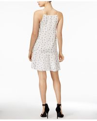 Kensie - White Odd Objects-print Dress - Lyst