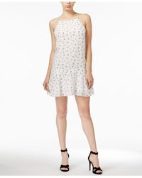 Kensie | White Odd Objects-print Dress | Lyst