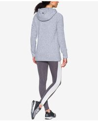 Under Armour - White Storm Zip Hoodie - Lyst