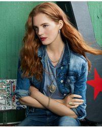 Lucky Brand - Metallic Two-tone Filigree & Tassel Pendant Necklace - Lyst