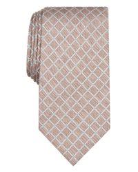 Perry Ellis Multicolor Meira Classic Grid Dot Tie for men