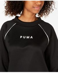 PUMA Black Xtg Crew Sweater