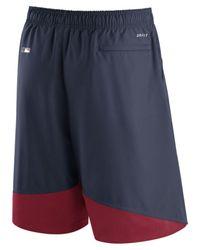 Nike Blue Men's Ac Dry Woven Shorts for men