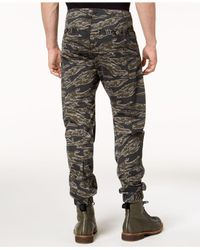 G-Star RAW Multicolor Powel Qane Camouflage-print Cargo Joggers, Created For Macy's for men