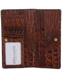 Brahmin Brown Ady Wallet Shortbread Melbourne