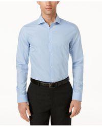 Calvin Klein Blue Infinite Stripe Shirt for men