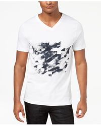 INC International Concepts - White Graphic-print T-shirt, Created For Macy's for Men - Lyst