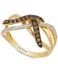 Le Vian - Metallic Diamond Knot (1/3 Ct. T.w.) In 14k Gold - Lyst