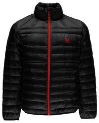 Spyder | Black Prymo Down Jacket for Men | Lyst
