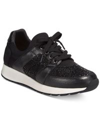 INC International Concepts | Black Pakiss Embellished Sneakers | Lyst