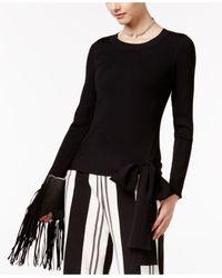 INC International Concepts | Black Bow Sweater | Lyst