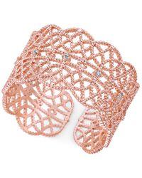 INC International Concepts | Multicolor Crystal-studded Filigree Ring | Lyst
