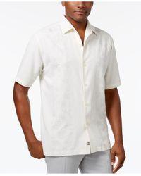 Tommy Bahama | White Men's Noivado Beach Embossed Shirt for Men | Lyst