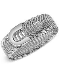 2028 | Metallic Silver-tone Bangle Bracelet | Lyst
