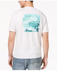 Tommy Bahama - White Paradise Cove Graphic-print T-shirt for Men - Lyst