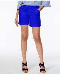 INC International Concepts | Blue Curvy-fit Shorts | Lyst