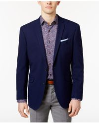 Kenneth Cole Reaction | Men's Slim-fit Techni-cole Flex New Blue Sport Coat for Men | Lyst