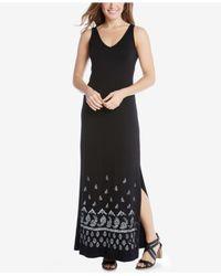 Karen Kane Black Alana Maxi Dress