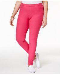 Michael Kors   Pink Plus Size Leggings   Lyst