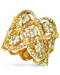 Effy Collection | Metallic D'oro By Effy Diamond Cluster (1-3/4 Ct. T.w.) In 14k Gold | Lyst