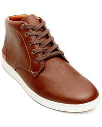 Steve Madden   Brown Freedom Chukka Sneakers for Men   Lyst