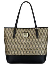 Anne Klein | Black Large Woven Perfect Tote | Lyst