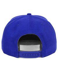 47 Brand Blue Script Side Snapback Cap for men