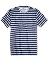 American Rag Blue Men's Ditsy Stripe T-shirt for men