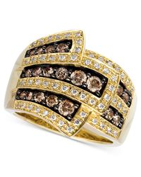 Le Vian - Metallic Chocolate Diamonds® Wrap Ring (1 Ct. T.w.) In 14k Gold - Lyst