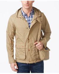 Barbour Multicolor Men's Croston Packable Waterproof Hooded Jacket for men