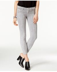 Hudson Jeans | Multicolor Cropped Militant C Wash Skinny Jeans | Lyst