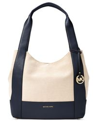 Michael Kors | Multicolor Marlon Large Shoulder Tote | Lyst