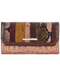 Brahmin | Multicolor Soft Checkbook Wallet | Lyst